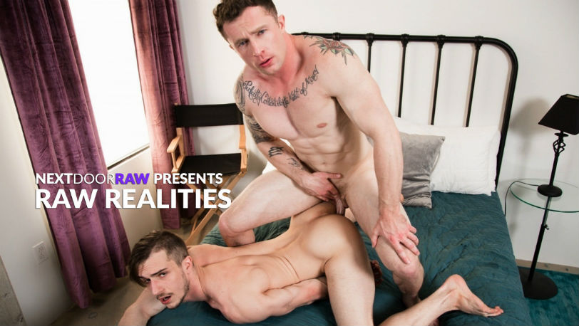 "Markie More and Donte Thick are ready for each other in ""Raw Realities"" from Next Door Raw"