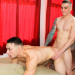 Hot recruit Alex Michaels' shaft disappears into Johnny B's eager hole at Active Duty