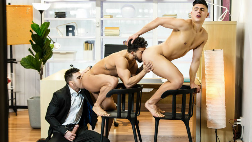 "Pietro Duarte & Ken Summers are put to the test by Paddy O'Brian in ""The Boss"" part 3 from Men.com"