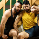 "Jessy Ares & Jean Franko recall the good times they used to have in ""Good Times"" from Men.com"