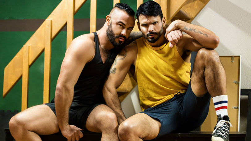 """Jessy Ares & Jean Franko recall the good times they used to have in """"Good Times"""" from Men.com"""