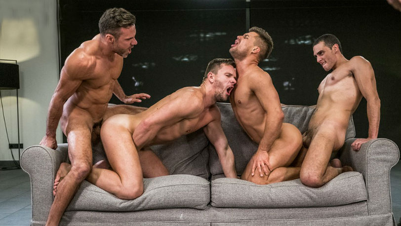 Manuel Skye, Andrey Vic, Javi Velaro RAW four-way and Klim Gromov at Lucas Entertainment