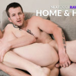 "Quentin Gainz slides his cock deep inside Luke Reed in ""Home & Hard"" from Next Door Raw"