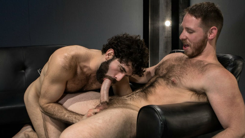 "Tegan Zayne and Spencer Whitman in ""Shut Up and Fuck Me!"" part 5 from Raging Stallion"