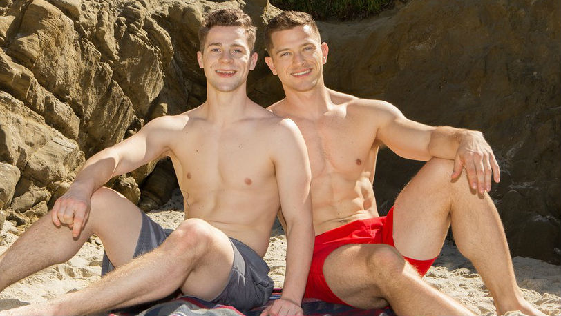 Deacon was eagerly awaiting Robbie's long, uncut dick inside of him - Sean Cody