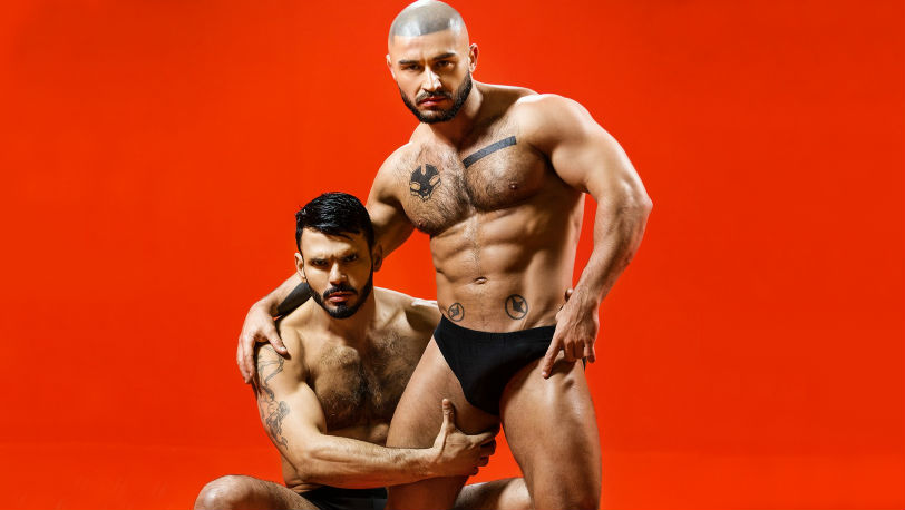 "Francois Sagat's sex wish comes true with Jean Franko in ""Sex Wish"" Part 1 from Men.com"