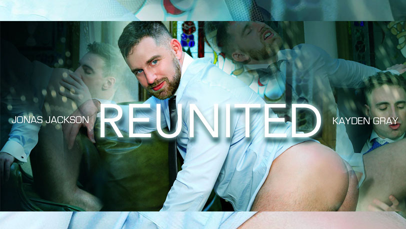 """Jonas Jackson and Kayden Gray decide to bang one more time in """"Reunited"""" at Men at Play"""