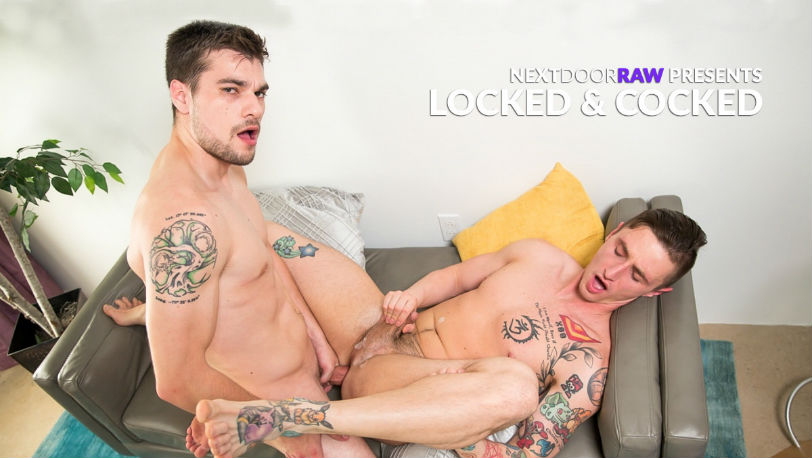 "Lance Ford gets fucked by Princeton Price in ""Locked & Cocked"" from Next Door Raw"