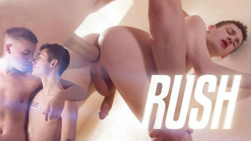 "Corbin Colby feasts on Danny Nelson's big dick in ""Rush"" from Helix Studios"