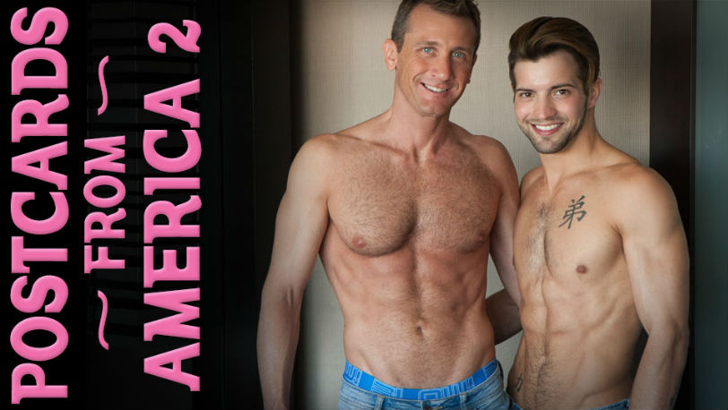 "Ettore Tosi and Casey Everett in ""PostCards from America"" part 2 from Lucas Kazan"