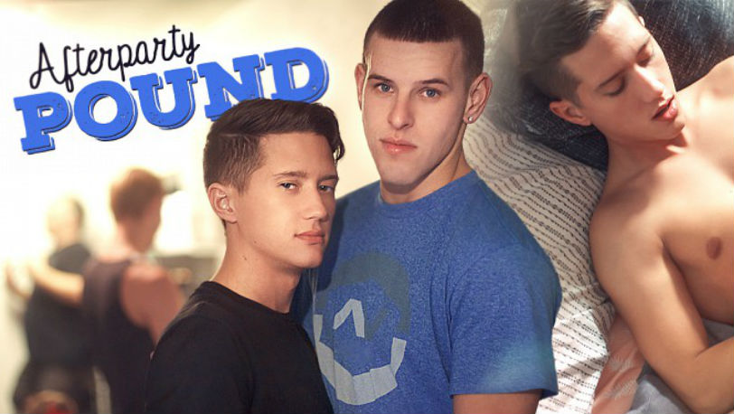 "Tyler Hill gets fucked hard by Shane Cook in ""Afterparty Pound"" from Helix Studios"
