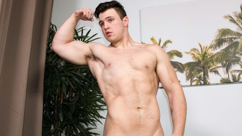 Silas Ericson takes his clothes off revealing his ripped body - Active Duty