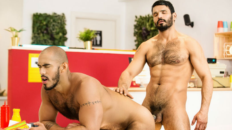 "Jean Franko & Louis Ricaute explore each other's bodies in ""Reformed Sinner"" part 1 from Men.com"