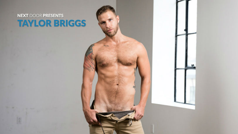 Hot new Next Door Male model Taylor Briggs is 29 years old and has a body to die for