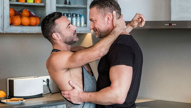 "Manuel Skye and Tomas Brand in ""Daddy's Good Boy"" part 1 from Lucas Entertainment"