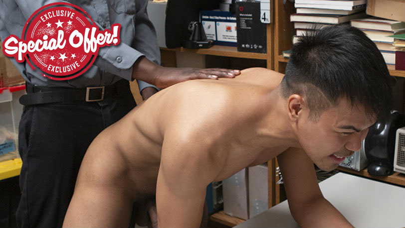 Young Perps Case No.1807040-80 : The pervy officer violates the boy with a cavity search