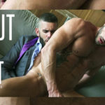 """Andy Star and Axel Max drain each other's balls in """"About Last Night"""" from Men at Play"""