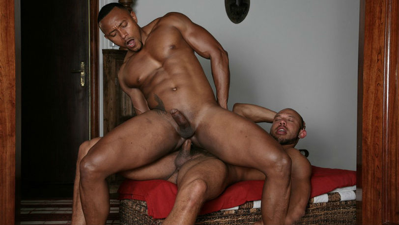 """Bela Barbell and Santi Sexy in a new """"Casting Couch"""" from Kristen Bjorn"""