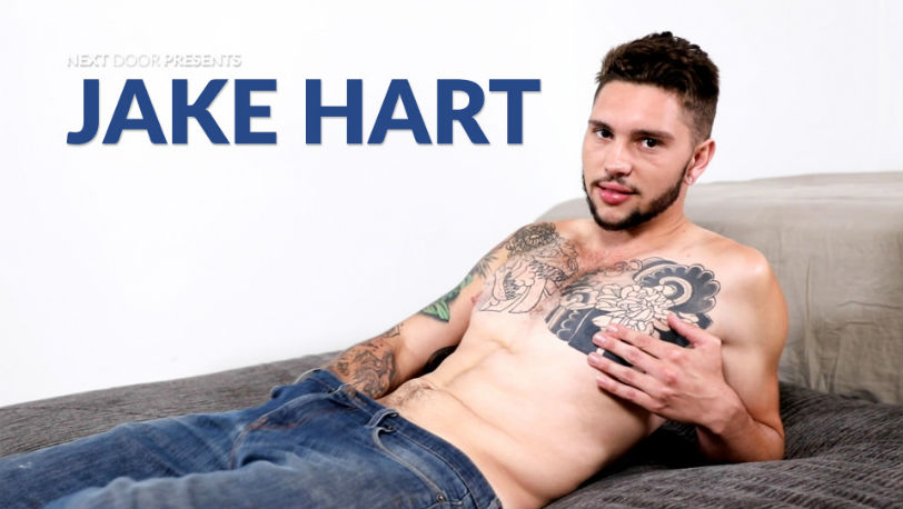 New Next Door Male model Jake Hart has a sexual eye and is always down to fuck