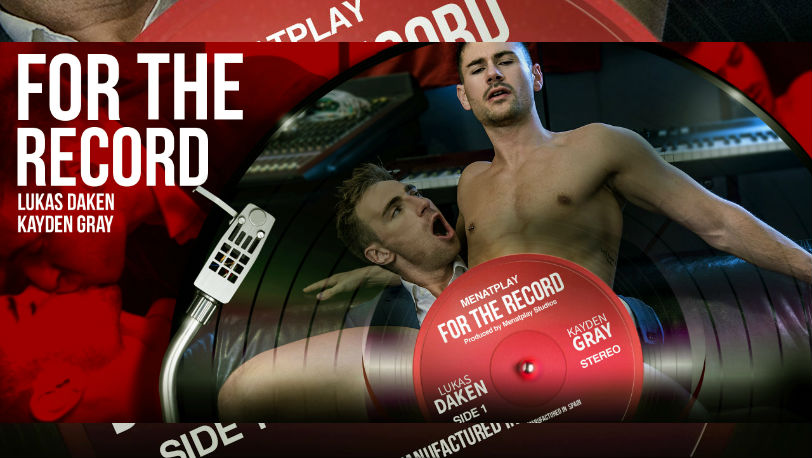 "Kayden Gray and Lukas Daken make sweet music in ""For The Record"" from Men at Play"