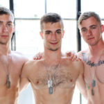 Ryan Jordan, Donte Thick & Blaine Jameson take turns servicing each other at Active Duty