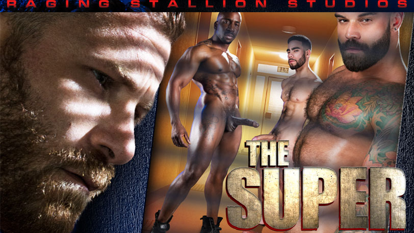 A full movie preview of Raging Stallion's new movie : The Super