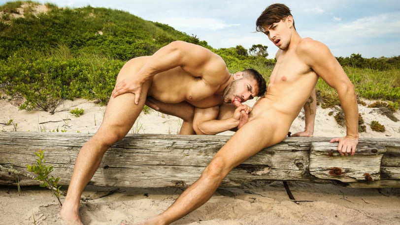 "Jack Hunter gets fucked by Damien Stone in ""Stranded"" part 3 from Men.com"