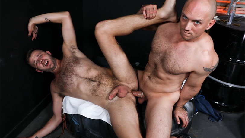 "John Magnum and Chandler Scott in ""Yes Sir I Want That Big Cock"" from Pride Studios"