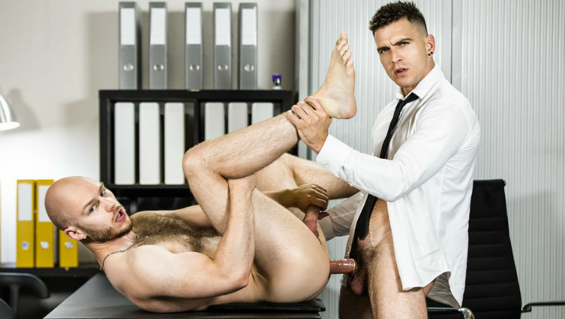 """Orson Deane gets fucked by Paddy O'Brian in """"Power Dynamics"""" from Men.com"""