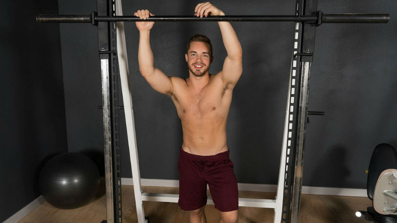 New Sean Cody model Cam is an athletic cutie and a real gym buff