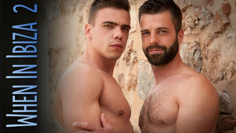 "Joaquin Arrenas seduces Hector De Silva in ""Ibiza"" Part 2 from Lucas Kazan"