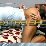 "Hot hunks Massimo Piano and Teddy Torres in ""Extra Shot"" from Men at Play"