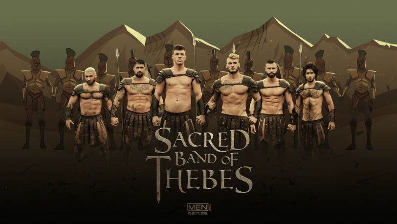 JJ Knight and William Seed in Sacred Band Of Thebes part 1 from Men.com