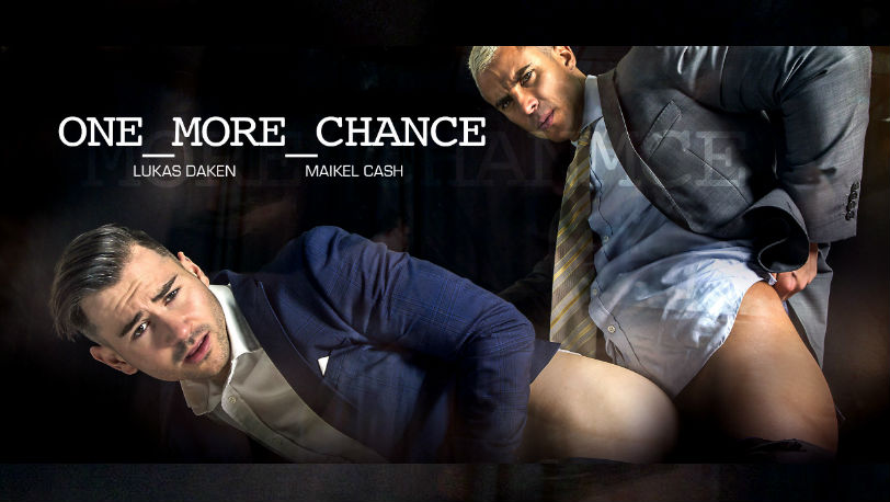 "Hot hunks Maikel Cash and Lukas Daken in ""One More Chance"" from Men at Play"