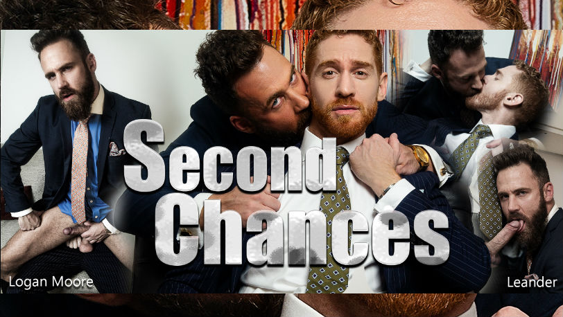 "Leander and Logan Moore in ""Second Chances"" from Men at Play"